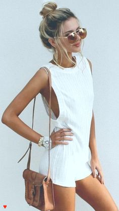 Chic white look ♥