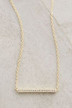 Dainty Sparkle Necklace - anthropologie.com #anthroregistry