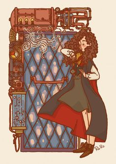 Hermione at the Girls' Toilet by RaRo81.deviantart.com on @DeviantArt
