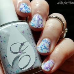 Let's Begin Nails: Envy Lacquer Thirty, Flirty and Fabulous Trio Swatch and Review with Nail Art