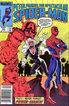 Peter Parker, The Spectacular Spider-Man # 89 by Al Milgrom