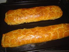 Hot Dog Buns, Hot Dogs, Czech Recipes, Czech Food, Food And Drink, Low Carb, Pie, Bread, Christmas Recipes