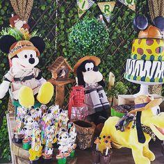 Mickey Safari 🎉🎉🎈🎈 #m3festas #festainfantil