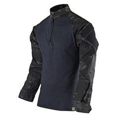 TRU-SPEC Tactical Response Uniform (TRU) Xtreme Combat Shirt - Multicam® Black - OPSGEAR - 1