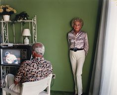 """Larry Sultan,  """"My Mother Posing for Me, from the series Pictures from Home"""" (1984)"""