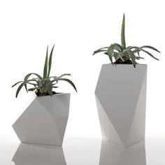 Reversible Geometric Planter    Kobol by BySteel