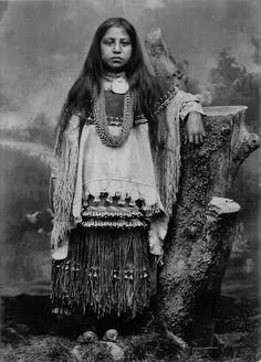 Cora Mangus Chiricahua Apache