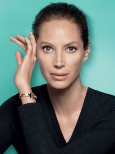 Supermodel Christy Turlington for Tiffany & Co 2016'