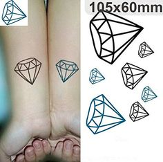 Waterproof Colorful Removable Temporary Tattoo DIY Body Sticker Sheet *** Review more details here : DIY Makeup