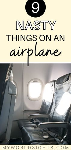 If you are going on an airplane, you'll want to know these airplane cleaning tips! Learn how to stay healthy on an airplane including how to clean your airplane seat!