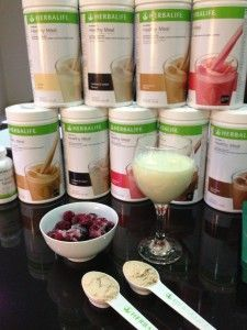 Herbalife protein shake recipes – playing with colour