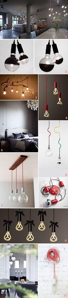 Futuro DIY: bombillas colgantes | Things 4 inspiration