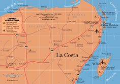 Map of Cancun Mexico | CANCUN & AREA MAPS MAPS