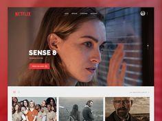 Netflix landing page redesign