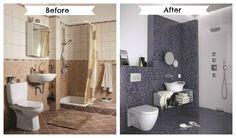 Bathroom renovations made easy - All4Women Home Décor Ideas (shelf under sink)