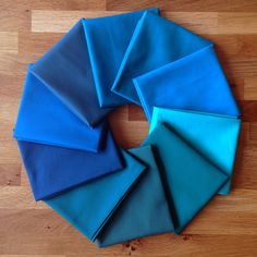 July 2015 Colour of the Month Club solids bundle from The Village Haberdashery