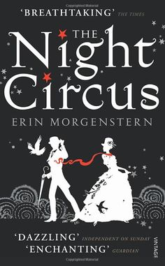 Night Circus by Erin Morgenstern.  Enchanting and haunting book - it made me feel like the first time I read Tom's Midnight Garden - all goose pimples and magic.  I bought this in the Lake District from Fred Holdsworth Books, Ambleside.  A lovely lady working there saw me admiring some art work on the walls  placed this gem in my paw... I am forever grateful x