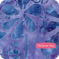 Reef Tonga Batiks Grape Flower Shower Yardage SKU# B9377-GRAPE