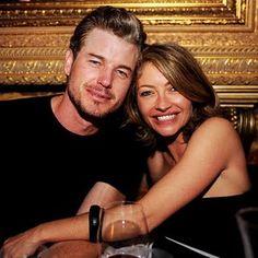 Eric Dane with wife Rebecca