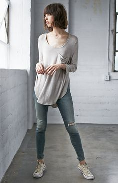 Me To We Fly Away Long Sleeve Top at PacSun.com