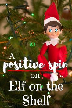 Same elf, different perspective. A positive spin on Elf on the Shelf, this Elf on the shelf alternative as a kinder, more positive spin on Elf on the Shelf! If you don't like Elf on the Shelf because of his constant,.