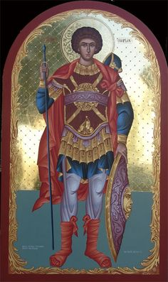 Byzantine Art, Orthodox Christianity, Egg Art, Orthodox Icons, Saint George, Religious Art, Colorful Pictures, Medieval, Saints