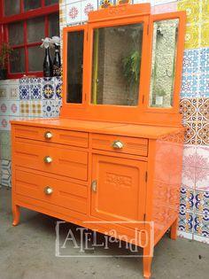Ateliando - Customização de móveis antigos: Cômodas de Lavabo Antiga