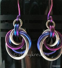daisykreates: Sterling Silver and Niobium - Chainmaille Mobius ...