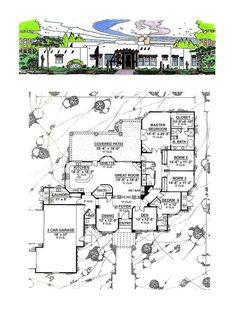 50 Best Santa Fe House Plans Images House Plans Santa Fe Home Southwest House
