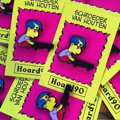 Schroeder Van Houten pin from Hoard90 stocked at www.nofitstate.co