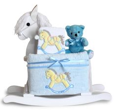 A beautiful baby shower gift AND centerpiece at the baby shower!