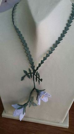Lace Necklace, Needle Lace, Diy And Crafts, Jewellery, Beads, Flowers, Handmade, Hardanger, Beading
