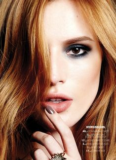 Bella Thorne, Sexy, Smoky Eyes Makeup - Natural beauty tips, tricks. Cruelty free, vegan. Beauty Subscription Boxes, Best Subscription Boxes, Makeup Subscription Boxes, Subscription Box News.