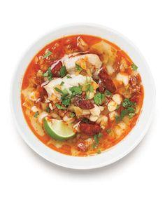 Smoky Bass, Fennel, and Chorizo Soup