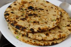 garlic naan recipe, how to make garlic naan on stove top and oven
