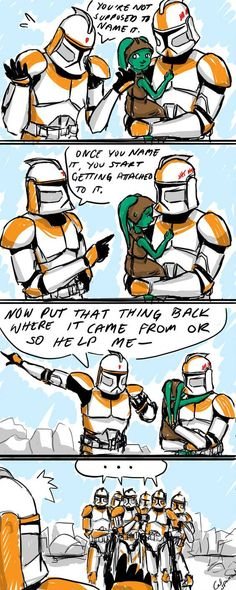This Seems Familiar by CalSparrow on DeviantArt - Star Wars Clones - Ideas of Star Wars Clones - This Seems Familiar by CalSparrow Star Wars Rebels, Star Wars Clone Wars, Star Wars Art, Star Trek, Sw Rebels, Star Wars Jokes, Star Wars Comics, Dc Comics, Star Wars Personajes