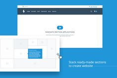 WebWire - Wireframe & UI Starter Kit by UIMint on Creative Market
