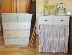 DIY Farmhouse Style Kitchen Cabinet :: Hometalk