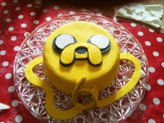 Adventure Time Jake Cake