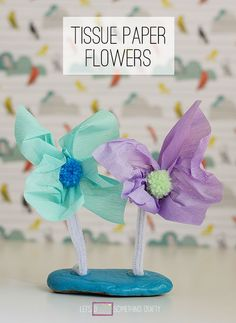 Rock Crafts: Flower Window Decorations -