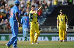 Australia defeated India by five wickets in the first One-dayer of the five-match ODI series at the WACA today. India First, Thing 1, Economic Times, Cricket News, Beats, Wickets, Australia, Sports, Hs Sports