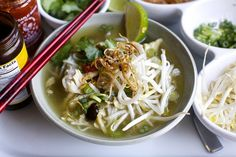 chicken pho The Slan