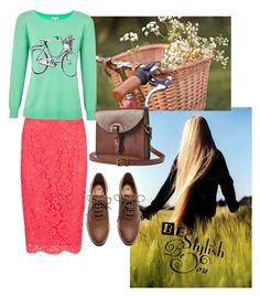 """""""Bicycle  gal"""" by charmingjewels ❤ liked on Polyvore featuring moda, H&M, Toast i Joie"""