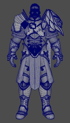But also, I've been a big Warcraft fan since and wanted to make a character 3d Model Character, Character Modeling, Character Creation, Character Concept, Character Art, 3d Modeling, Character Design, Ad Of The World, Digital Sculpting