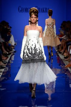 Georges Chakra at Couture Fall 2015 - Runway Photos