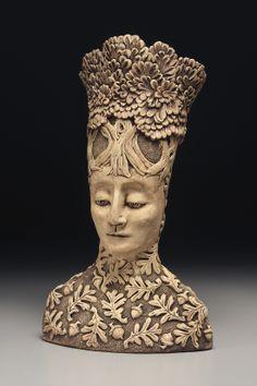 "Ann Gleason ""Queen of the Oaks"" Stoneware"