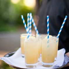 Treat guests to a stellar signature welcome cocktail with these expert tips. Image: Levi Stolove Photography
