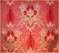 jamaica byles: more...vintage wallpapers  I really LOVE this paper!!!