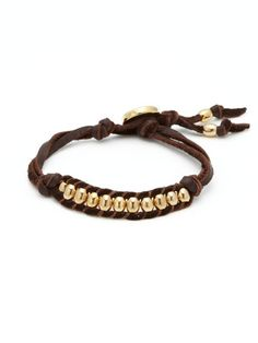 Bracelet idea- I might have to try and make this.