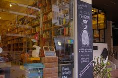 Books Actually in Tiong Bahru, Singapore. This shop is a mix of quirky and modern, like the ultimate Etsy store filled with indie titles, local authors, and plenty of knickknacks to bring home. It's small, but intimate, and readings are often hosted here.